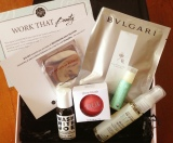 Better Late Than Never: Unboxing: GlossyBox April 2013 box (Work That Beauty)
